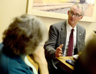 Bob Inglis meets with local officials