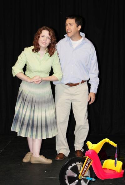 "Melia, Gage in ""Bright Ideas"" at Venture Theatre"