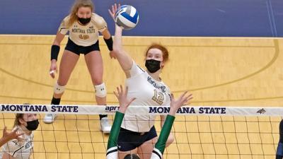 Montana State Bobcats volleyball 4