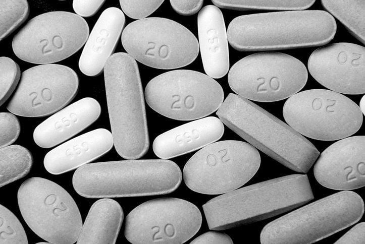 opiates prescription stockimage