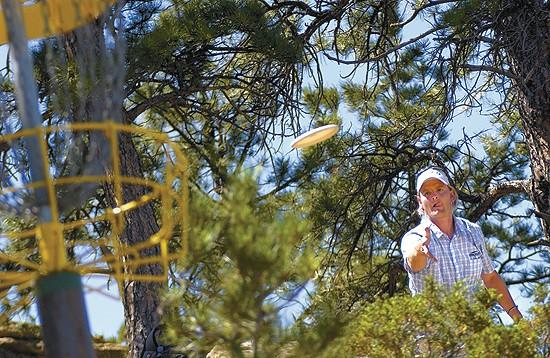 Disc golfers compete in Billings today