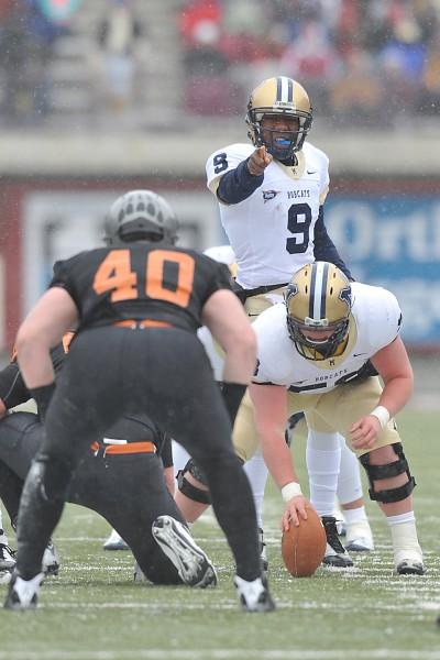 Montana State quarterback DeNarius McGhee
