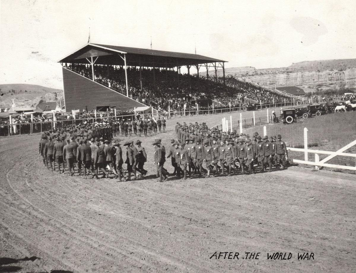 World War I veterans at Billings