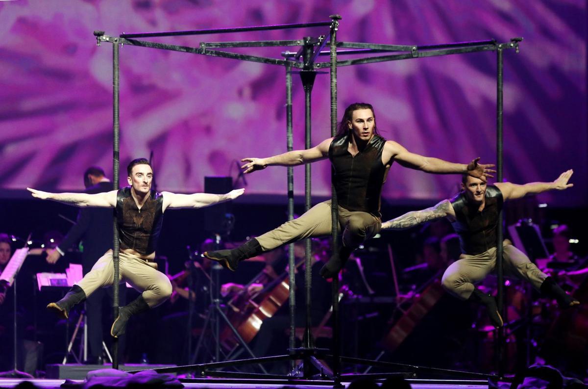"Cirque Musica Holiday show ""Believe"""