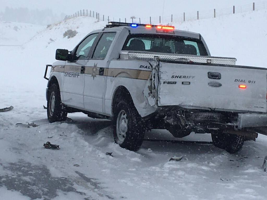 Stillwater County Sheriff's Office pickup
