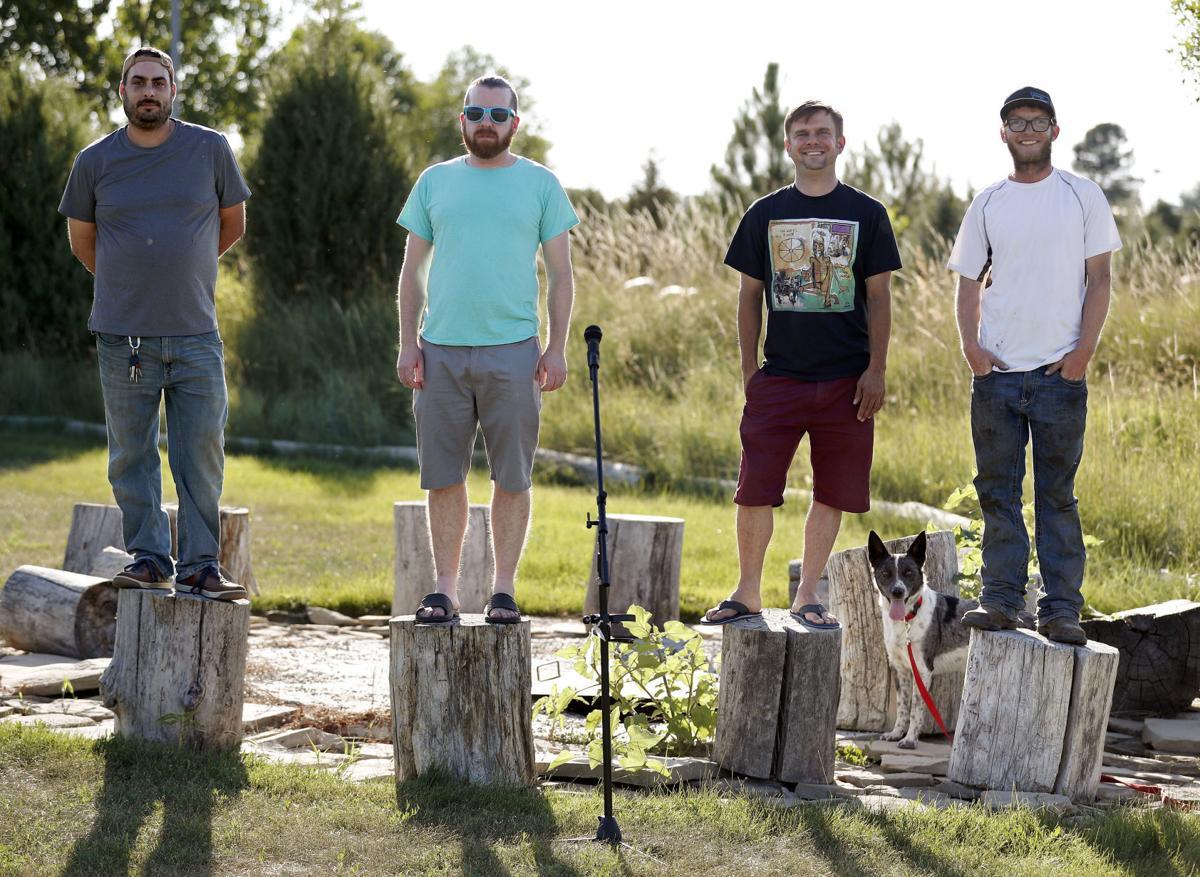 Comedians Eric Anton, Kenny Jacobs, Nicholas Rogers and Logan Dennison