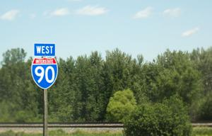 Road construction on Interstate 90 through Billings begins today