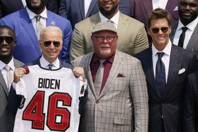 Biden Buccaneers Football