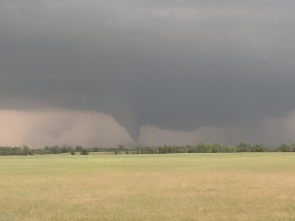 A tornado descends on Carter County.