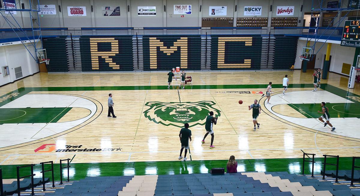 RMC gym floor