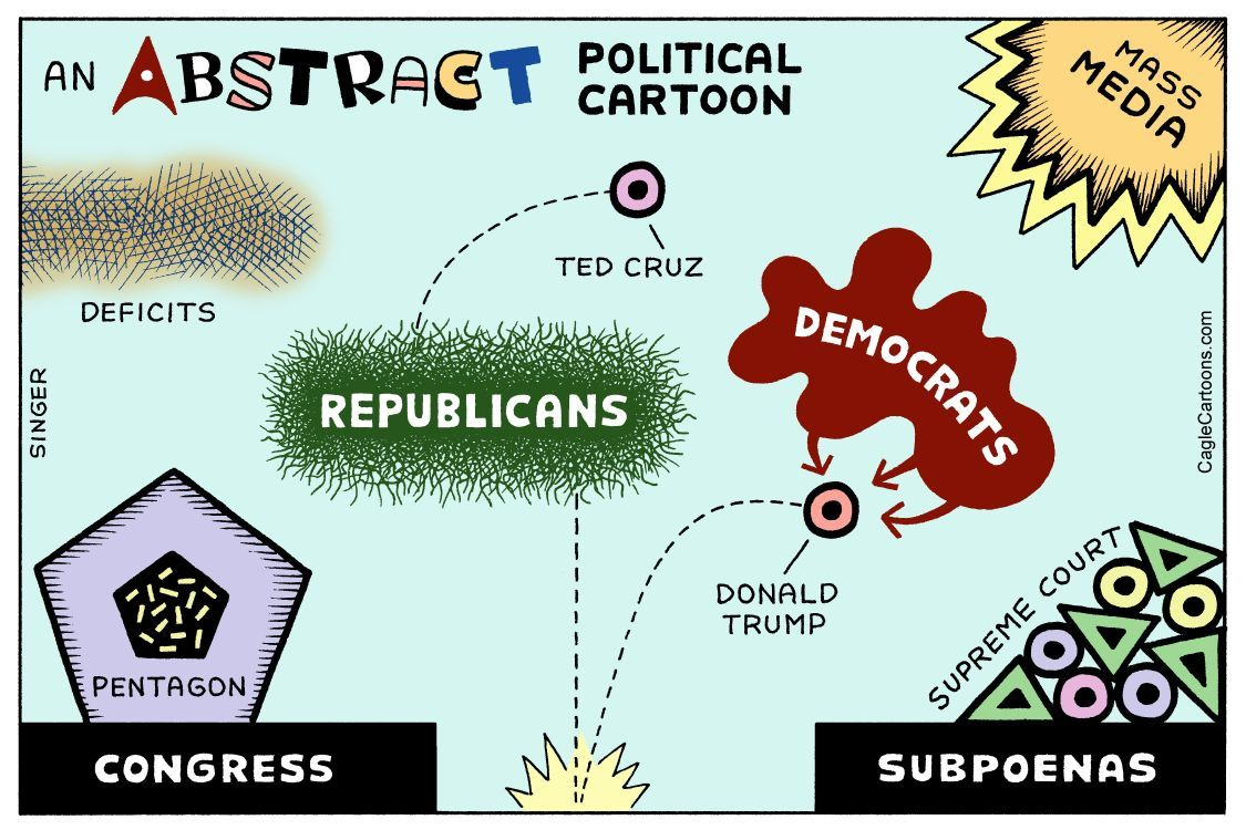 An Abstract Political Cartoon