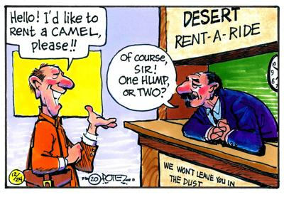 Camel rental
