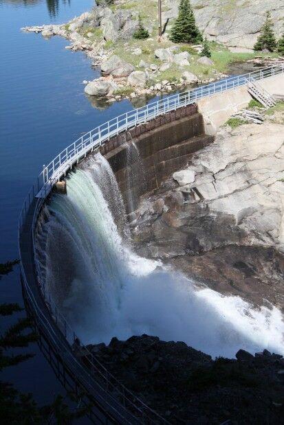Mystic Lake Dam