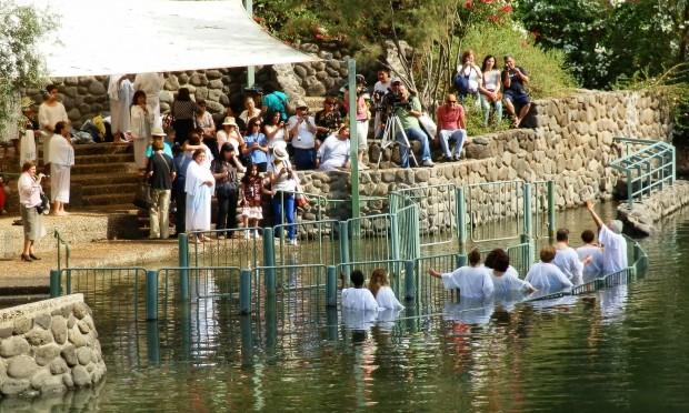 Baptisms in the River Jordan