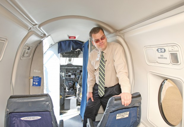 Capt. Philip Le Fevre, vice president of Gulfstream flight operations