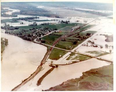 Pryor Creek flood of 1978
