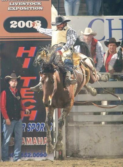 Demers Kick Starts 2009 Rodeo Season With Nile Bareback