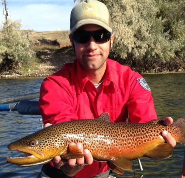 Wyoming wardens check bighorn anglers find 90 percent are for Bighorn river fishing