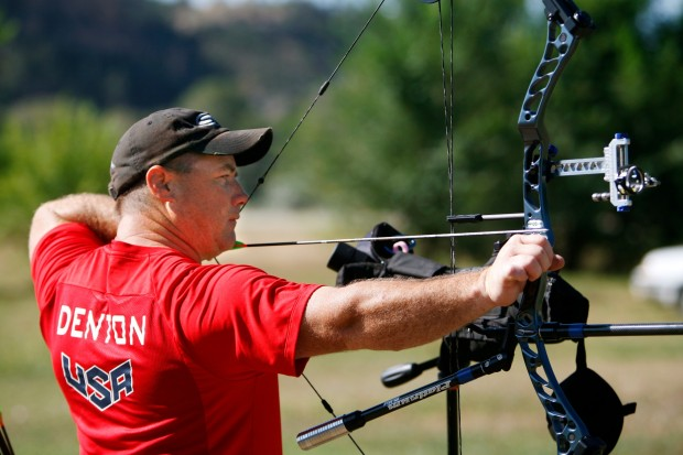 Paralympian archer Dugie Denton