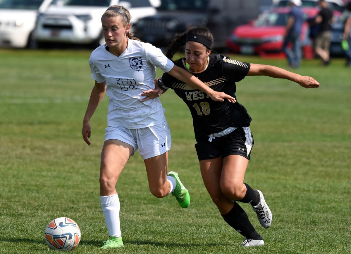 Butte girls soccer at West