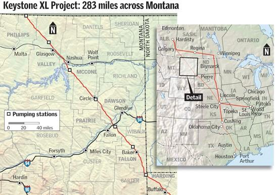 Pipeline expected to be a windfall for Montana counties