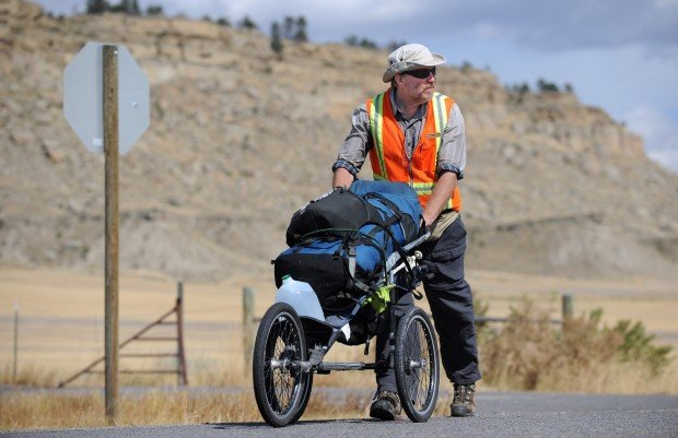 Bart Smith walks the Nez Perce Historical Trail