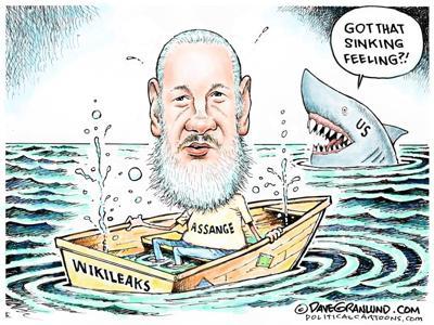 Assange sinking