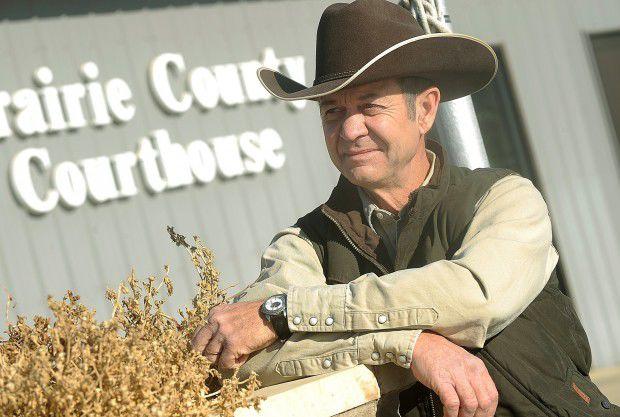 Prairie County Commissioner Todd Devlin