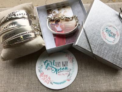 Girl Ran Away with the Spoon bracelet