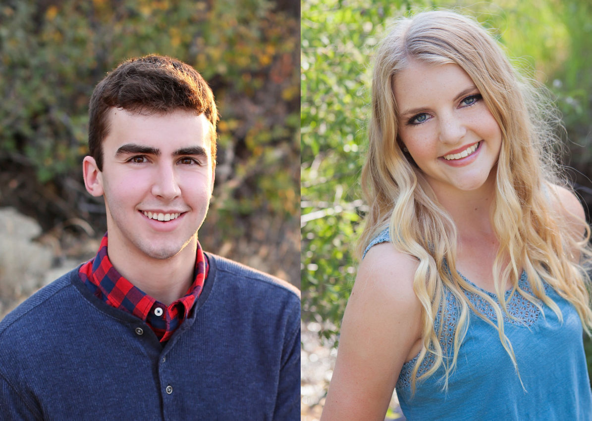 Trevor Canty and Lily Dyre