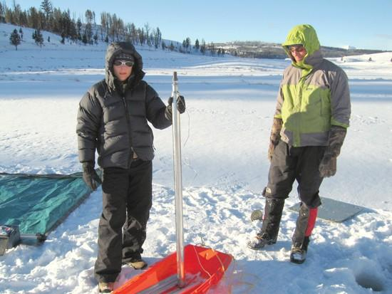 Samples taken from lake beds provide informative look back