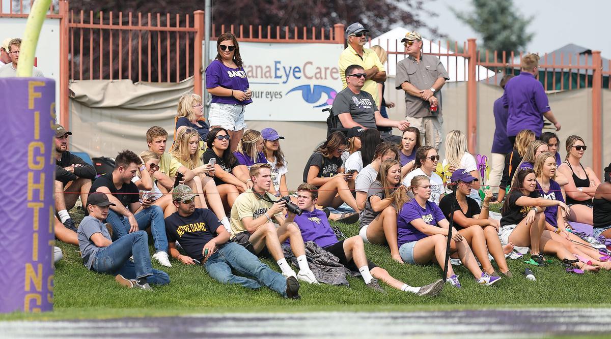 Carroll College fans