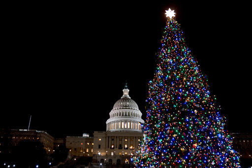 Holiday decor to park chalet? Capitol tree heads to Montana