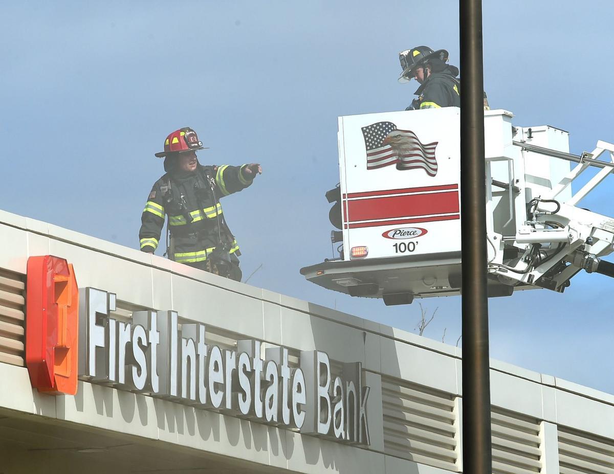 First Interstate ladder truck