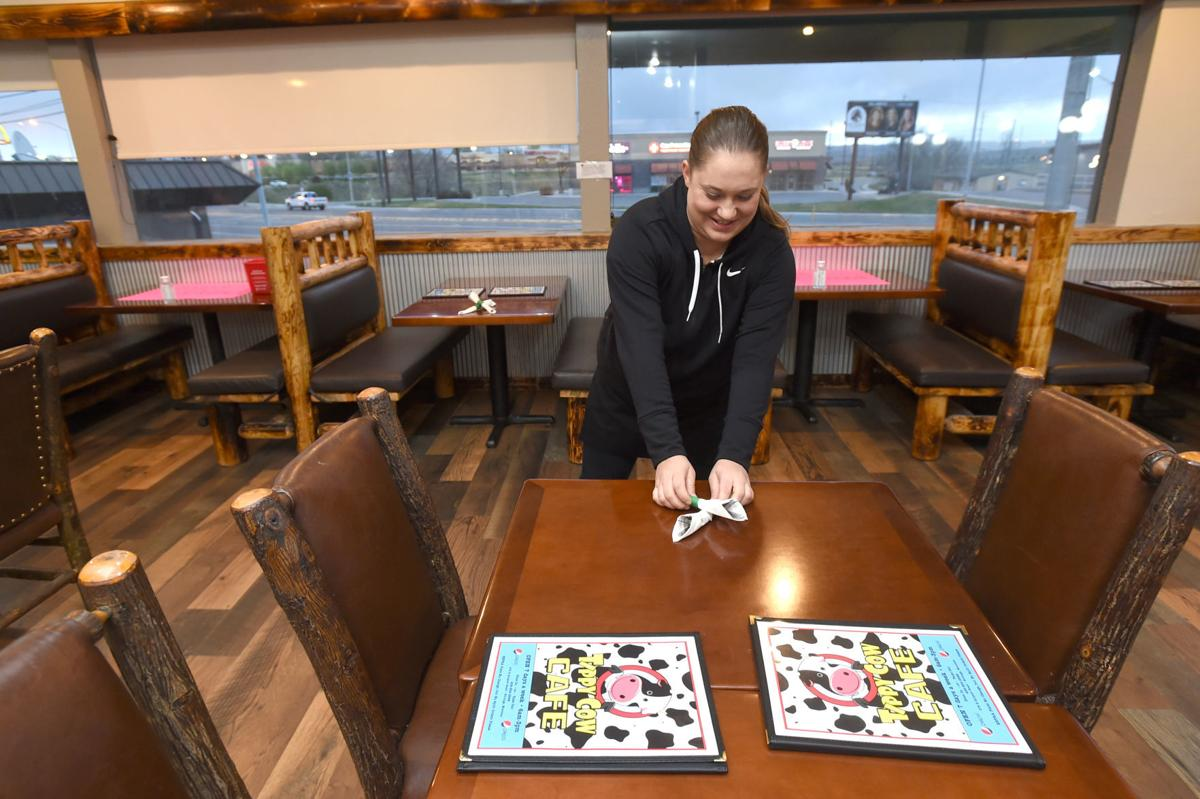 Restaurants open Monday morning
