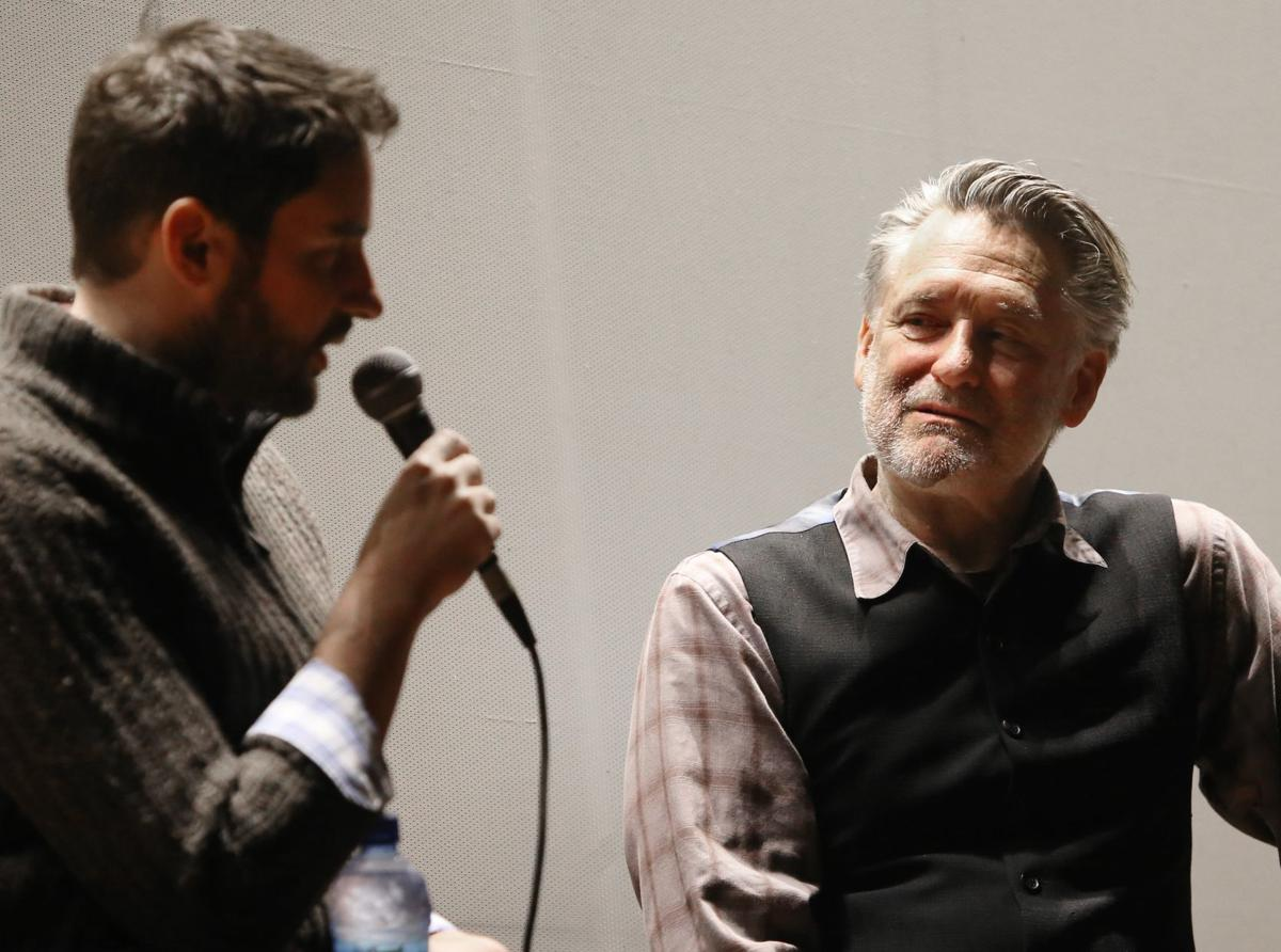 Jared Moshe and Bill Pullman