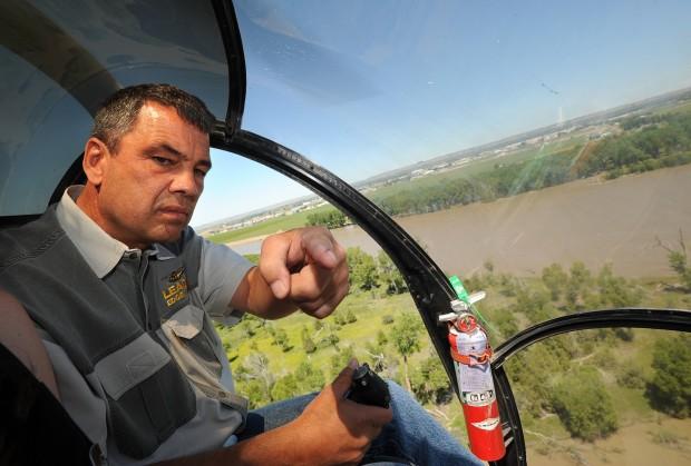 Gary Blain, of Billings Flying Service,
