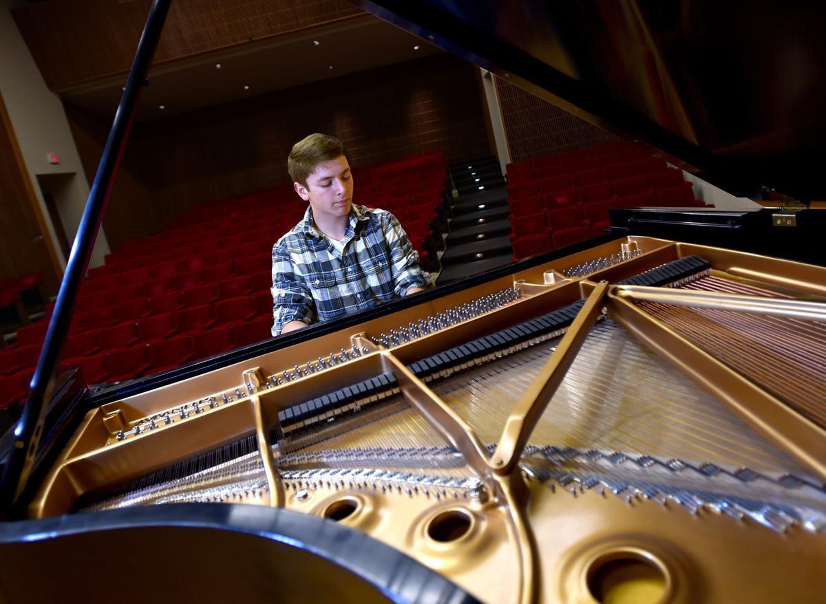 Pianist Tanner Jorden