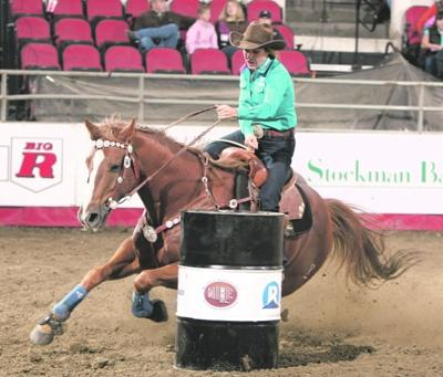 Barrel Racer Powell Back In The Chase For 2010 Rodeo