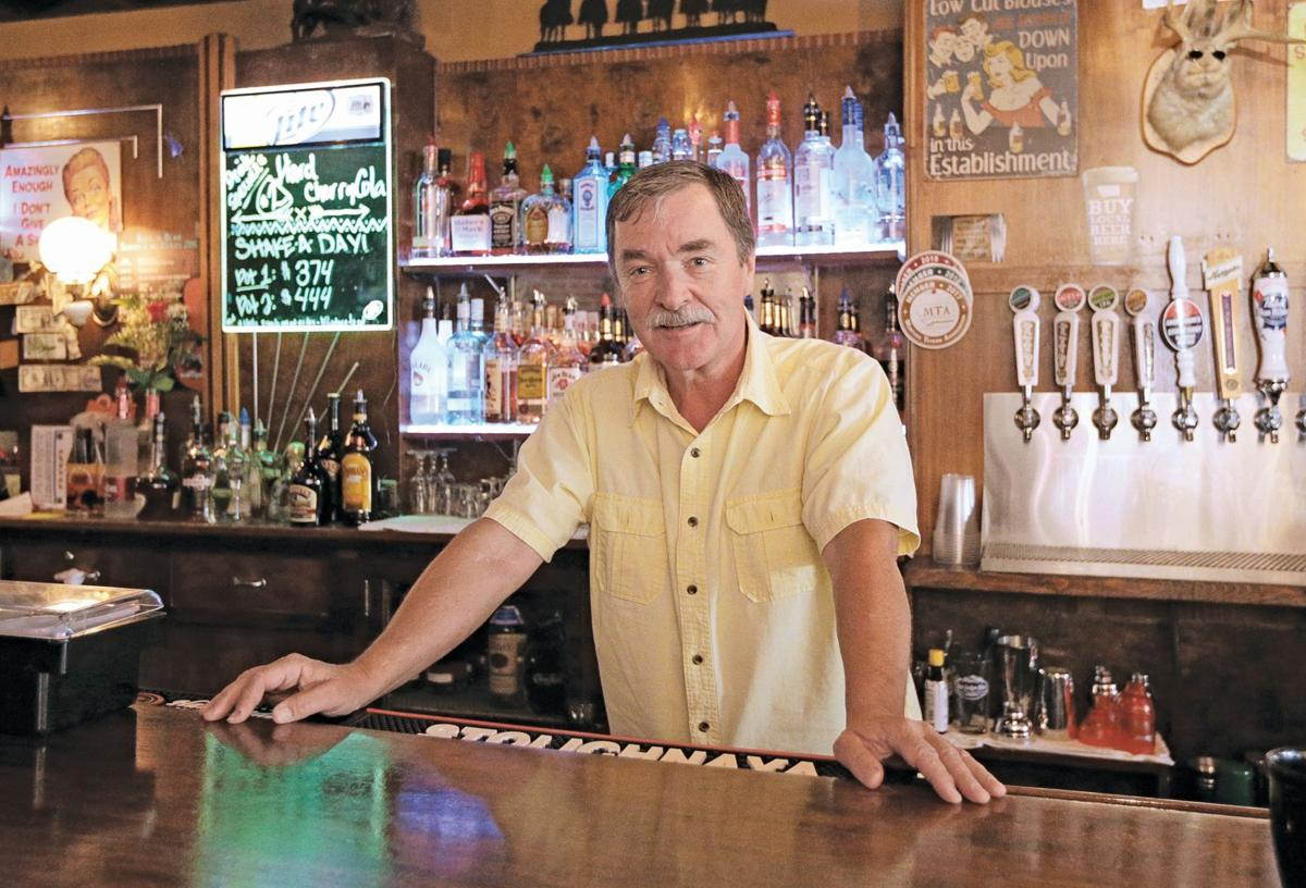 Jim Johnson, owner of the Bull'n Bear Saloon in Red Lodge