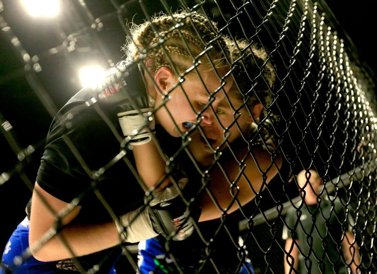 Jessica Black Widow Borga victorious in her Bellator MMA debut