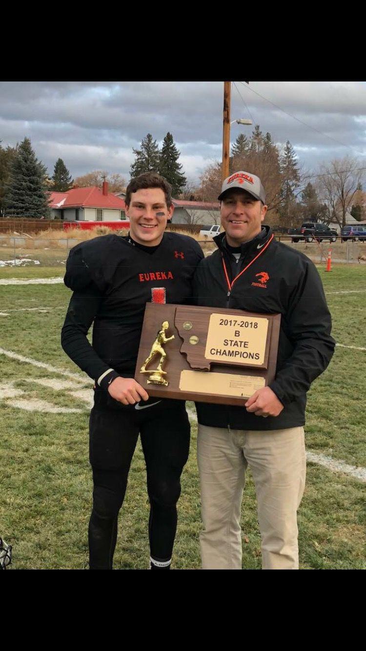 Garrett Graves and his coach, Trevor Utter