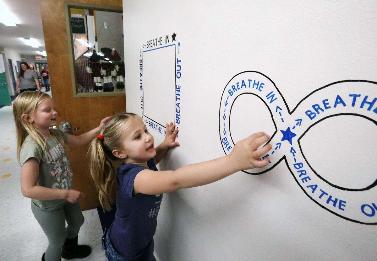 Anaconda school implements social and emotional learning exercises in classrooms and hallway