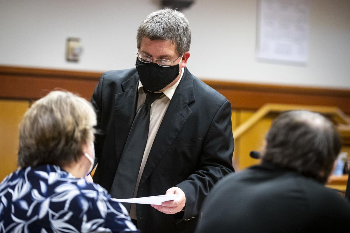 Prosecutor Brett Linneweber