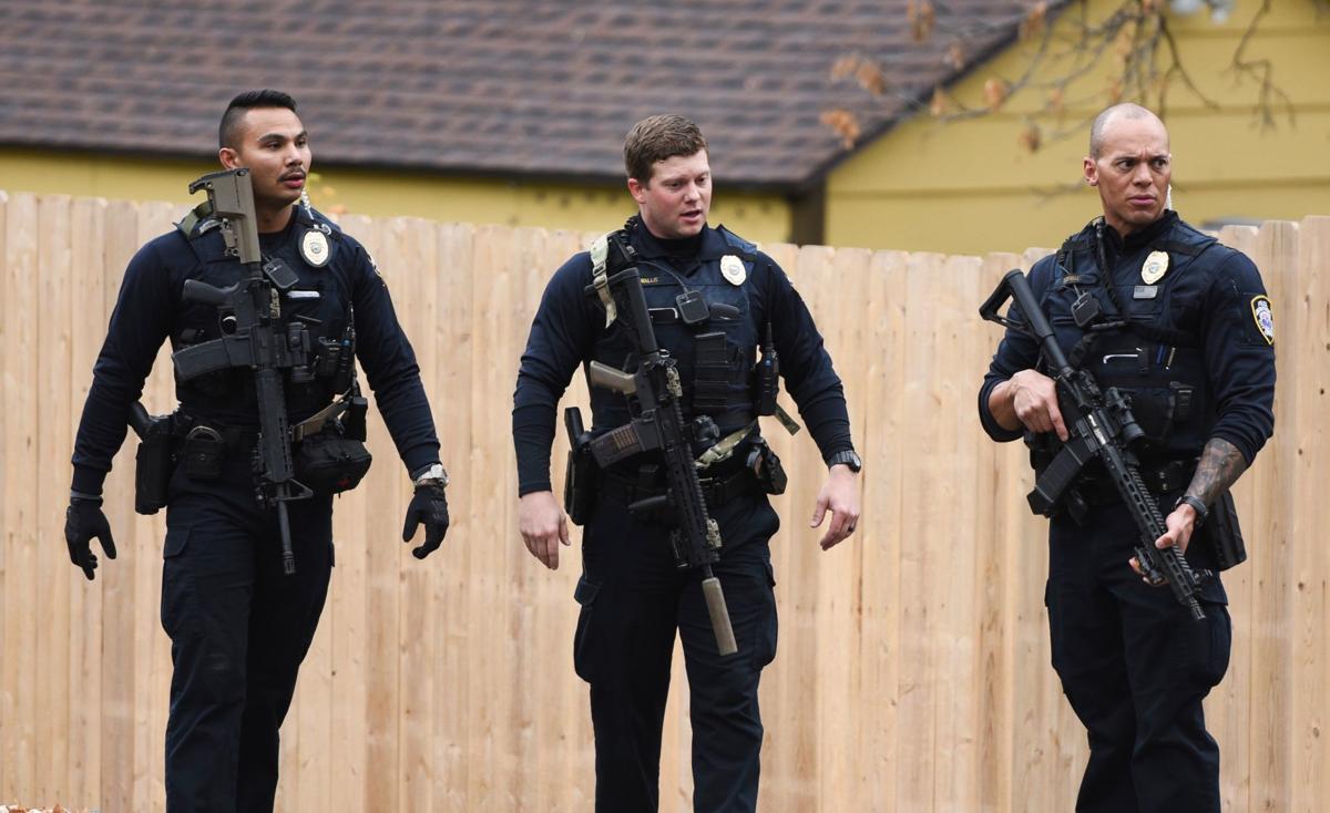 Burglary Shooting