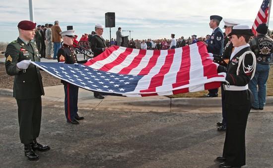 County veterans cemetery dedicated in Laurel