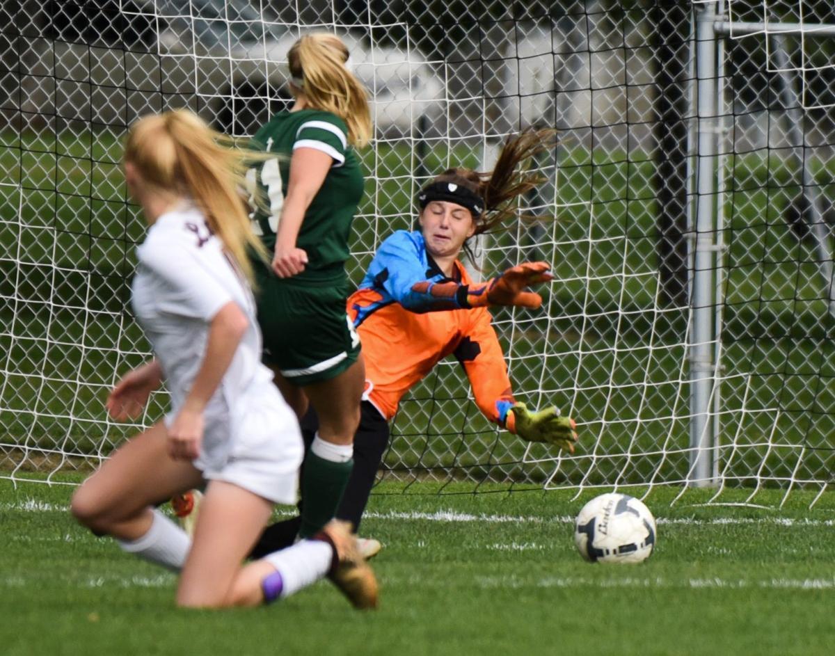Laurel at Billings Central Girls Soccer