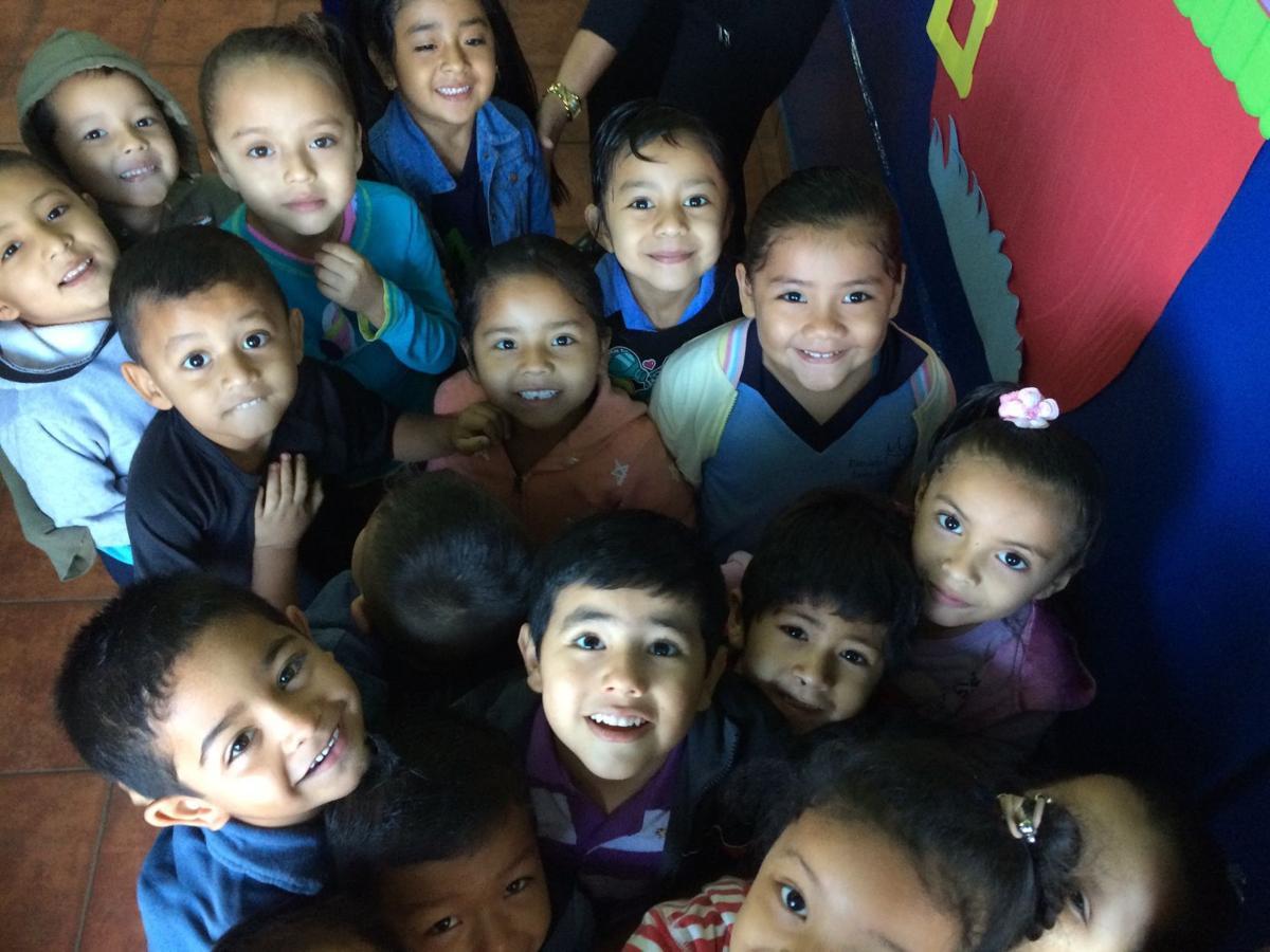 Children at the Hosanna School