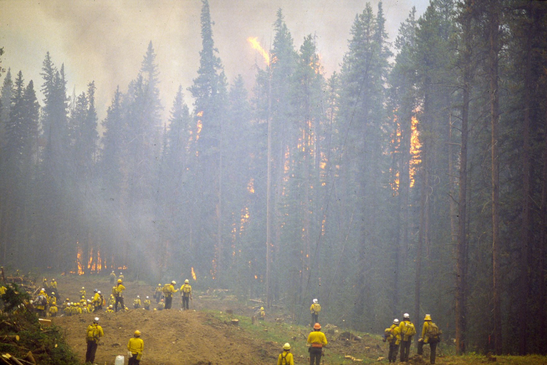 Firefighting has seen many changes since the 1988 Yellowstone fires