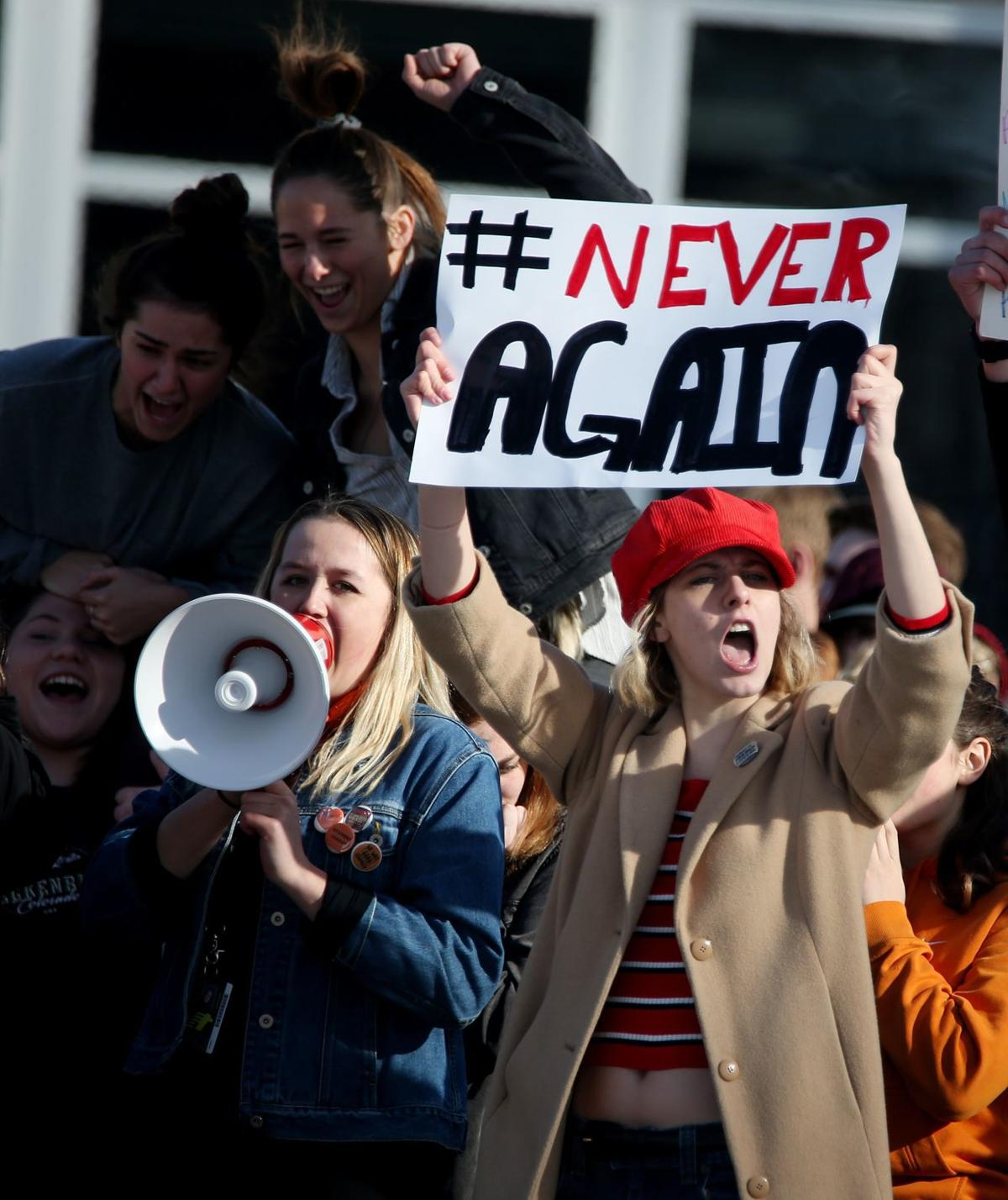 Students protest gun violence